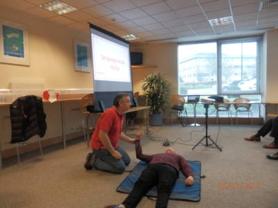 Teaching the Recovery Position at GE Energy