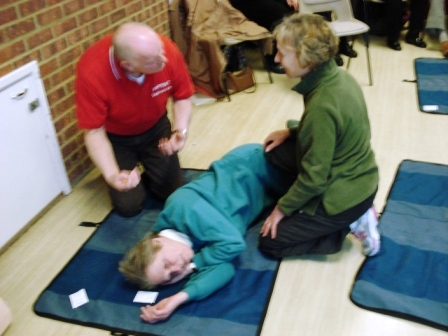 Recovery Position - Swallowfield Feb 2014