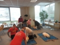 CPR Practice at GE Energy