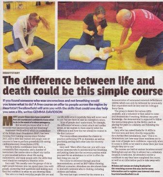 Here is what a journalist thought of our course